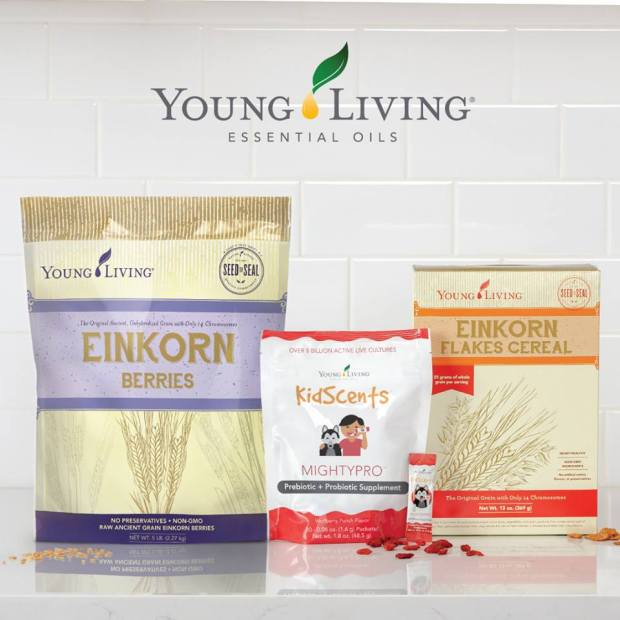 New Products 2018 Einkorn and Kidscents Pre and Probiotics
