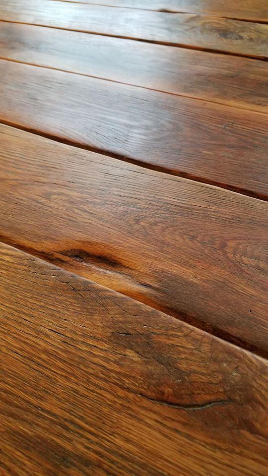 Wood table finish
